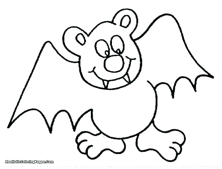 728x553 Free Printable Bat Coloring Pages