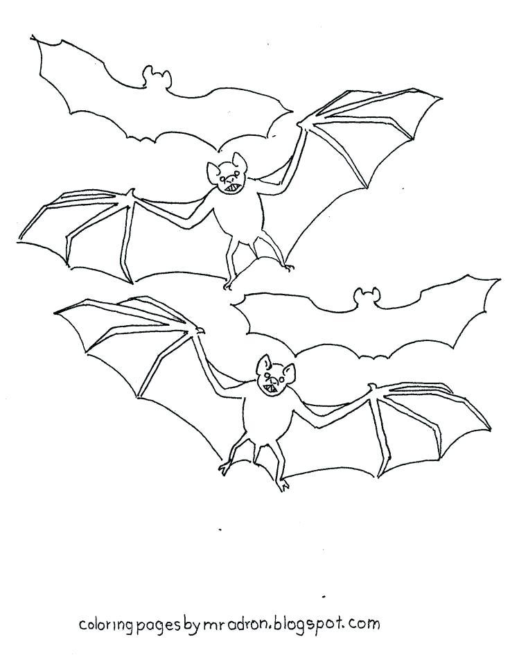 736x955 Bats Coloring Page Bats Coloring Pages Free Printable Vampire Bat