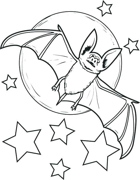548x700 Bats Coloring Page Free Printable Bat For Kids Batman Pages Bats
