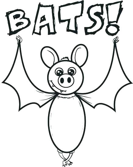 437x550 Coloring Pages Bat Bat Coloring Page Free Printable Cartoon Bat