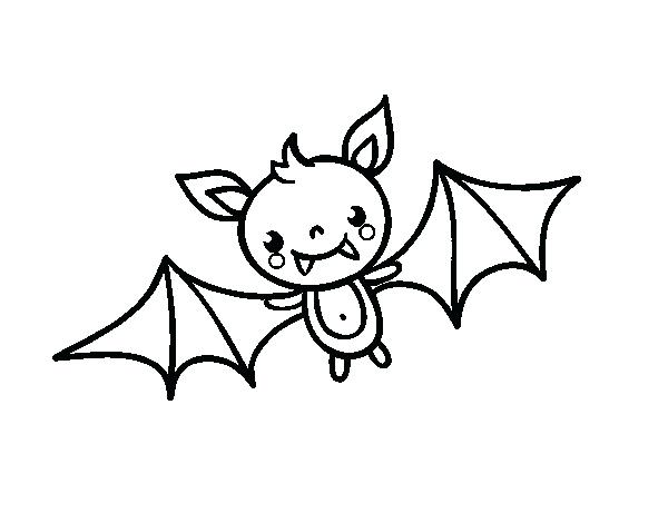 600x470 Coloring Pages Bats Free Printable Bat Coloring Page For Kids Free
