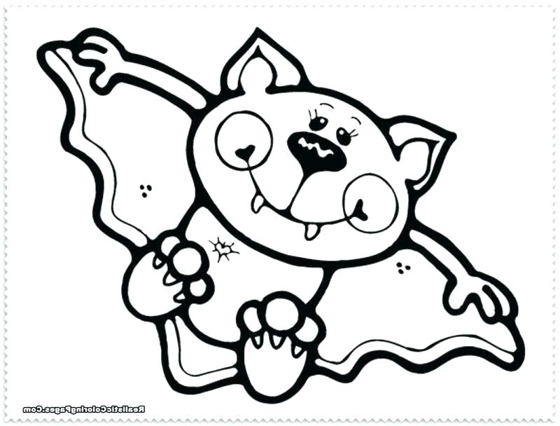 800x608 Coloring Pages Of Bats Free Printable Bat Coloring Pages Coloring