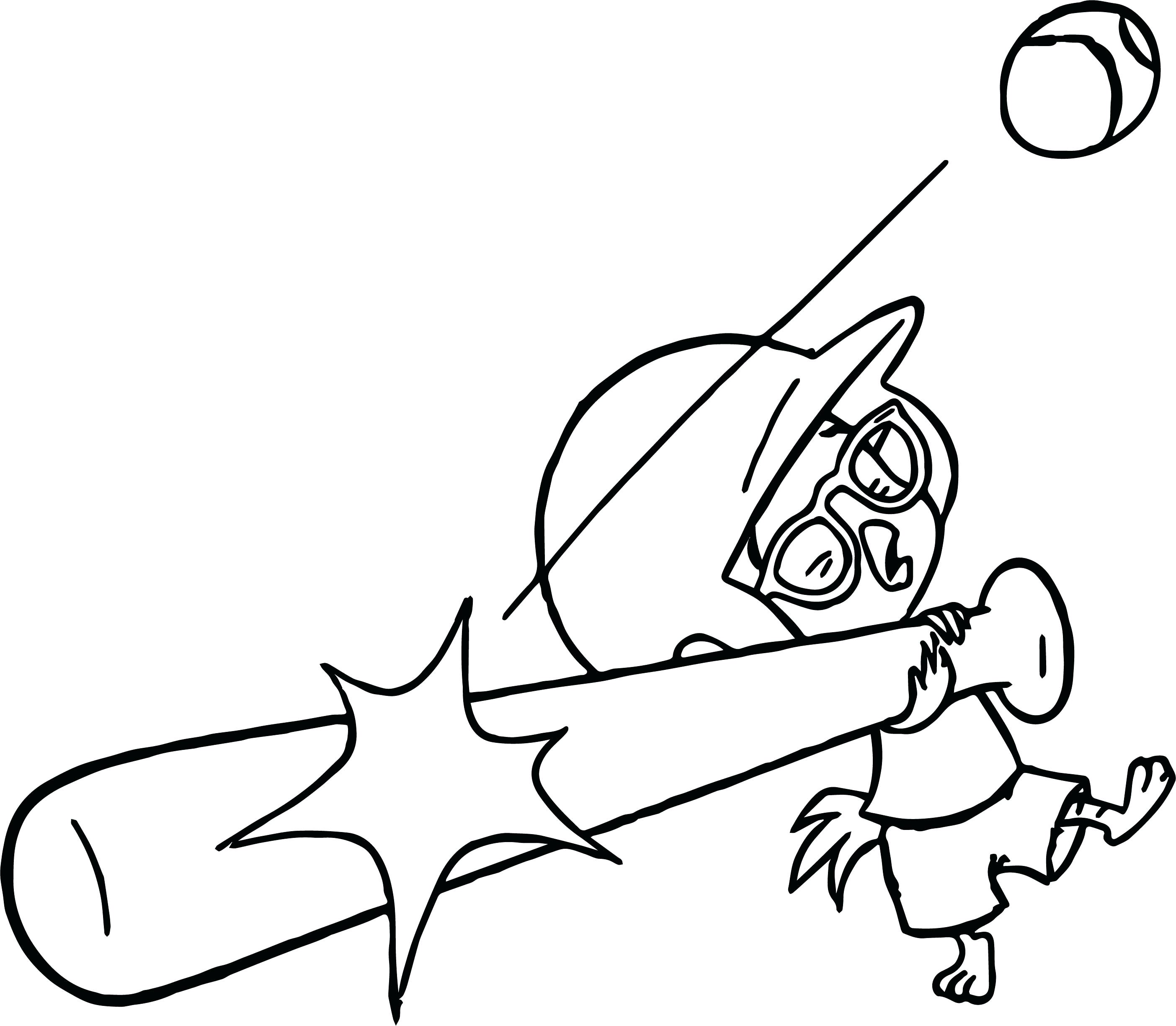 2808x2449 Best Of Coloring Bat Coloring Sheets Chicken Little Ace Cluck Kick