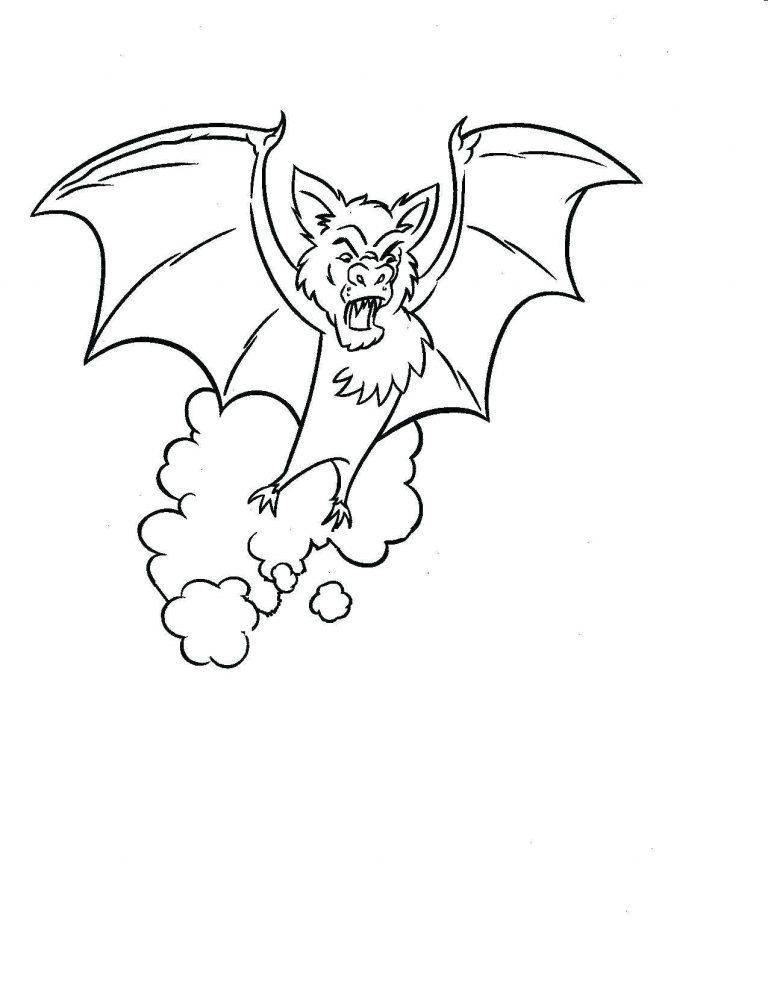 768x994 Bat Coloring Pages Preschool Copy Page F Printable Batman