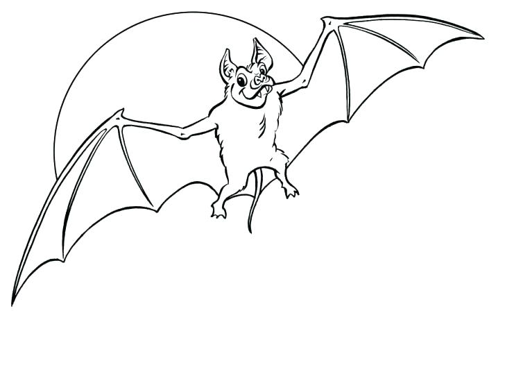728x549 Bat Coloring Pages Printable Vampire Bats Free Page Rouge