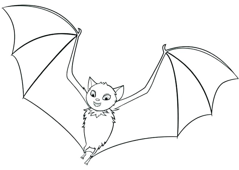 800x571 Cute Bat Coloring Pages To Print Coloring Pages Bats Coloring