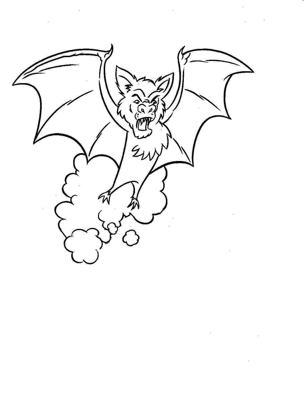 1275x1650 Halloween Bat Coloring Pages Free Celebrations Coloring