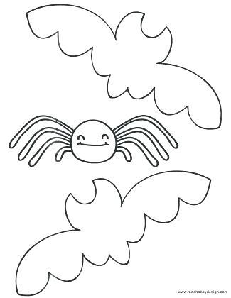 325x420 Bats Coloring Page
