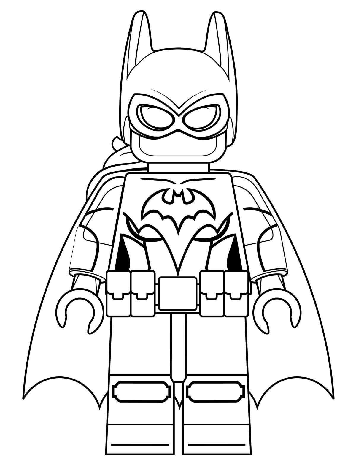 1200x1600 Coloring Pages Kids N Fun Of Lego Batman Movie Batgirl