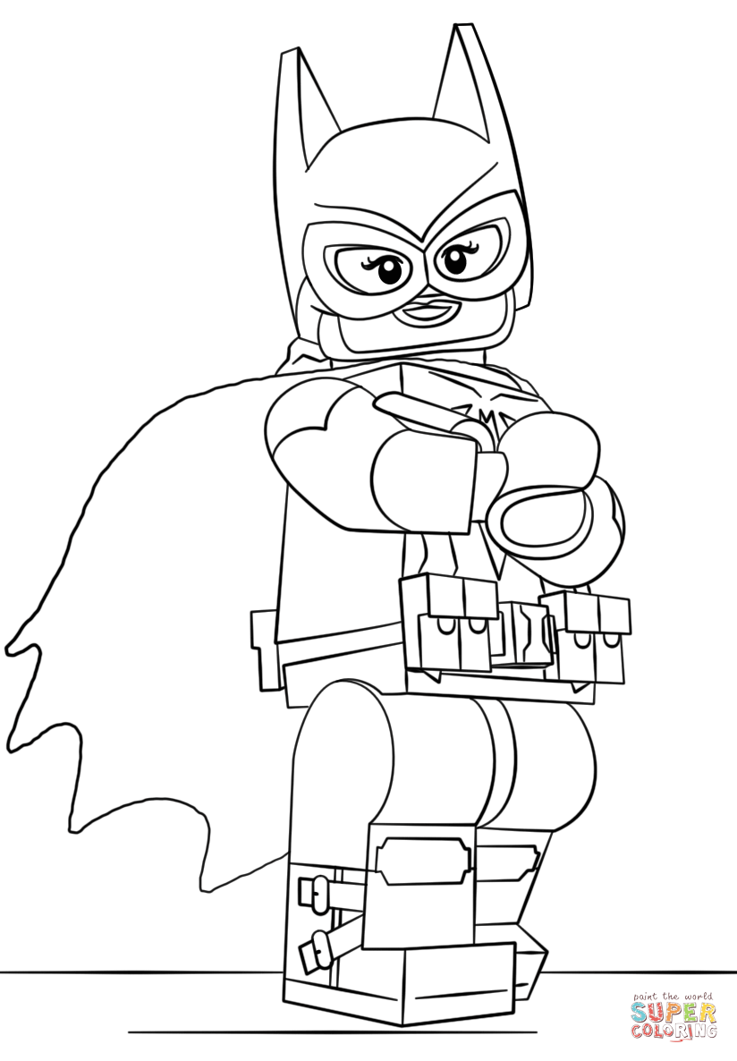 824x1186 Batgirl Coloring Pages For Kids Printable Printable