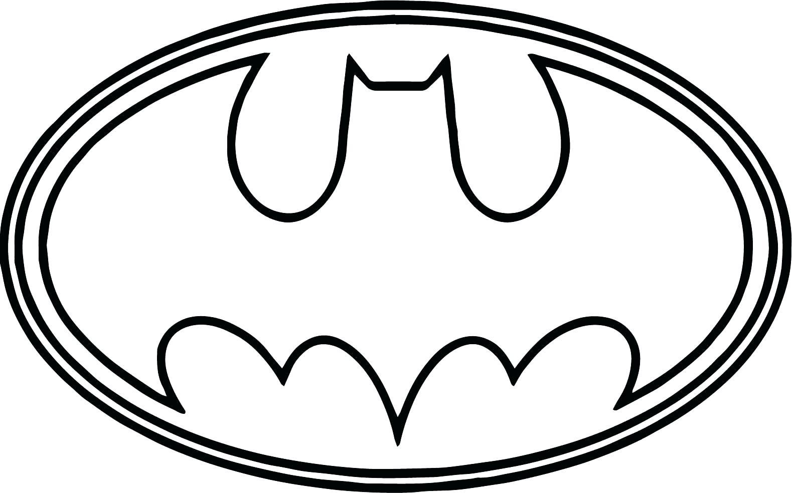 1579x984 Fundamentals Batman Logo Coloring Pages Drawin