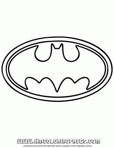 370x480 Batman Free Printable Logo For String Art