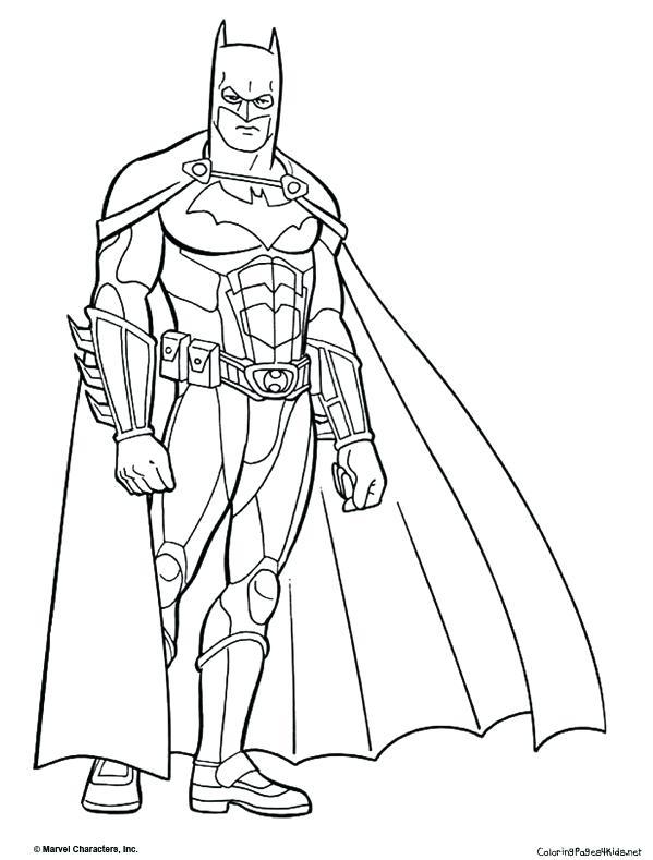 599x789 Coloring Pages Of Batman Batman Coloring Pages Batman Coloring