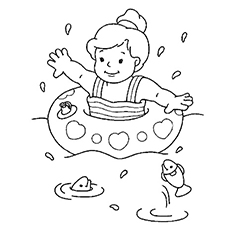 230x230 Beach Coloring Pages Free Printable Sheets To Color