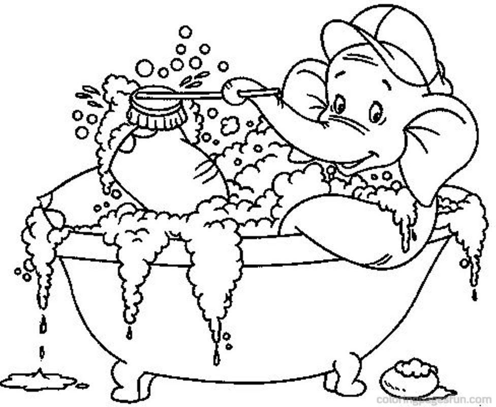 976x800 Bathroom Coloring Pages Movieweb