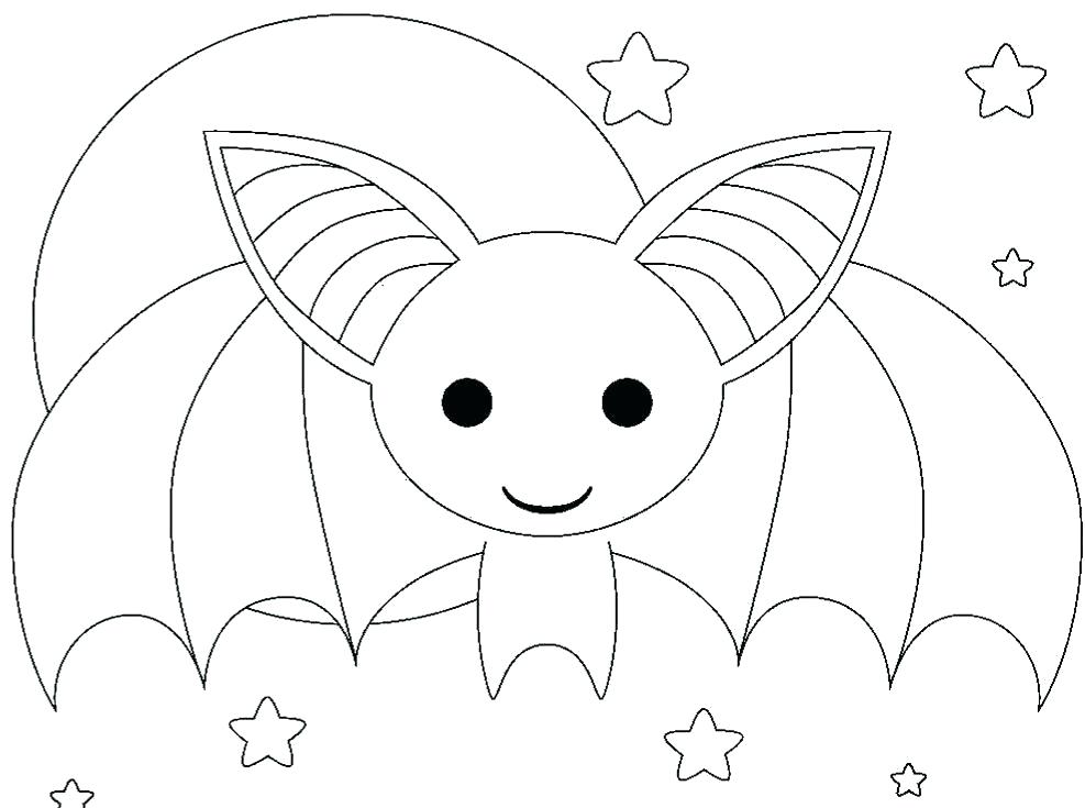 987x735 Printable Bat Bat Coloring Pages Bat Coloring Pages Cute Kids