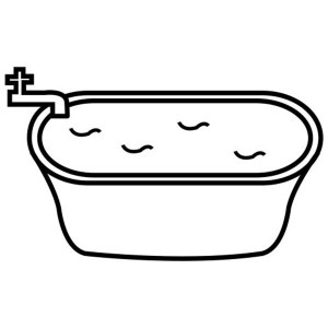 Bathtub Coloring Page At Getdrawings Com Free For Personal Use