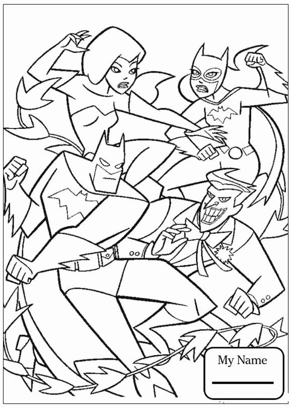578x810 Coloring Pages Cartoons Batman Catwoman And Robin Cartoon Coloring