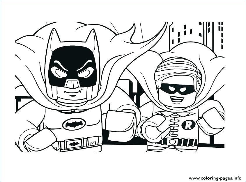 845x626 Batman Robin Coloring Pages For Kids Best Of Batman Color Pages