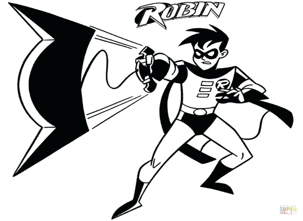 1024x748 Coloring Pages Batman And Robin Batman And Robin Coloring Batman