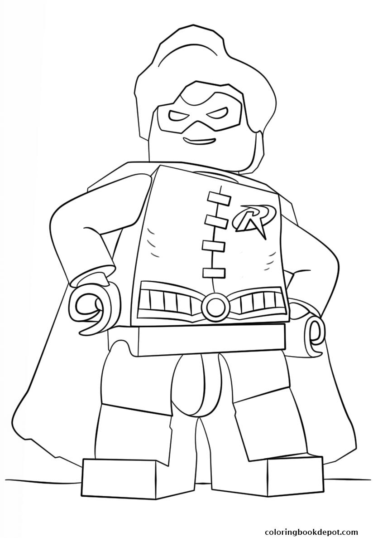 824x1186 Lego Batman Robin Coloring Pages