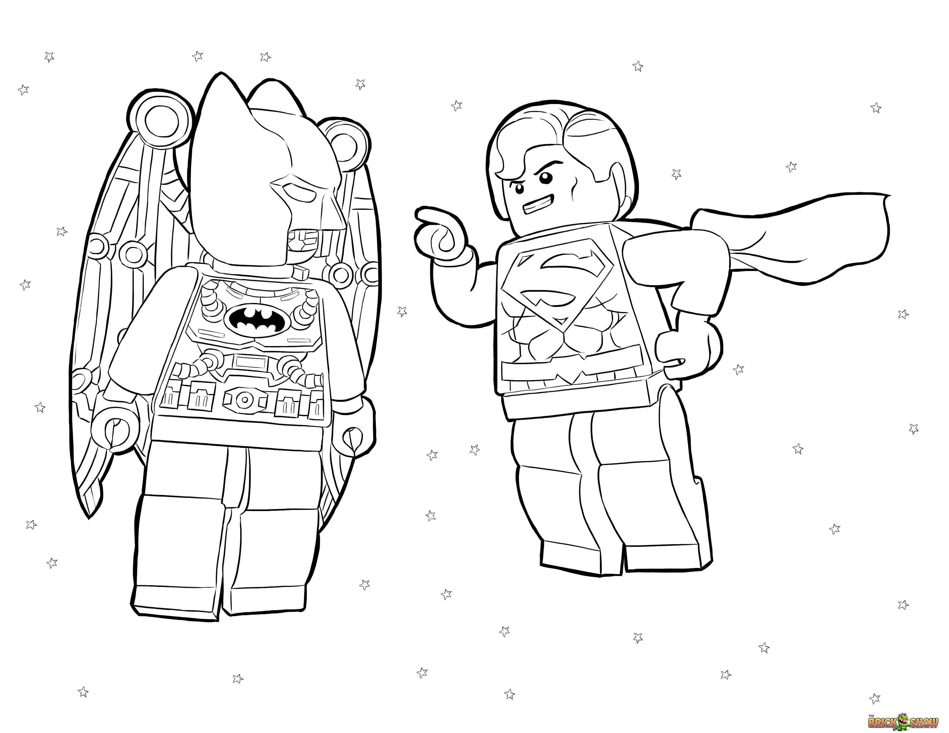 3300x2550 The Best Lego Batman And Robin Printable Coloring Pages Have Image