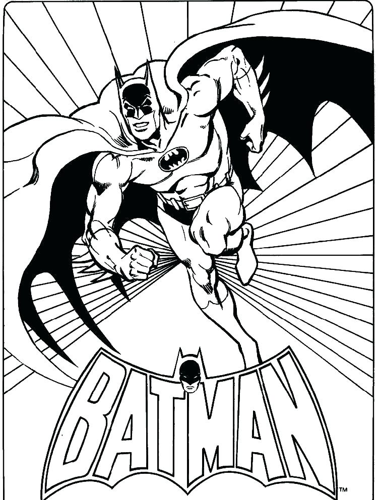 750x993 Batman And Robin Colouring Pages Printable Coloring Free Batman