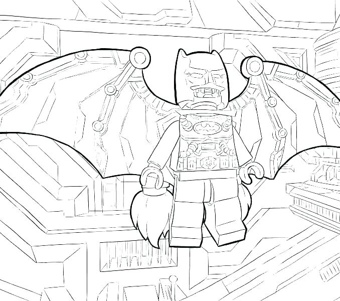 678x600 Batman And Robin Printable Coloring Pages S Batman Robin Printable