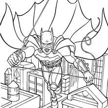220x220 Batman, Spiderman And Superman Coloring Pages