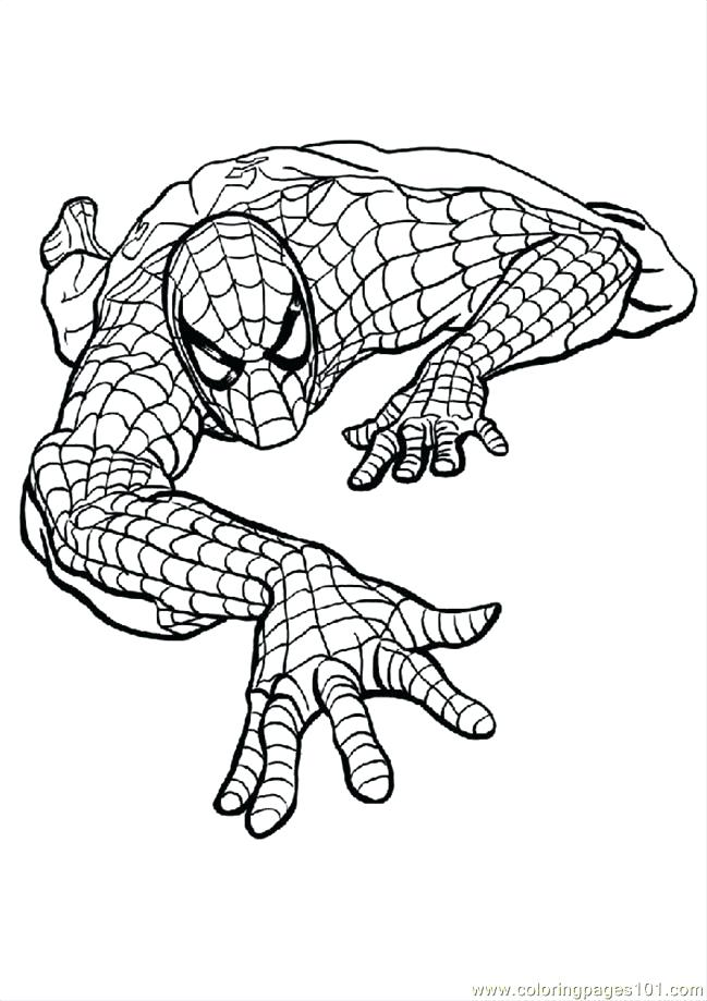 649x919 Spiderman Coloring Pages Free Printable Coloring Page Coloring