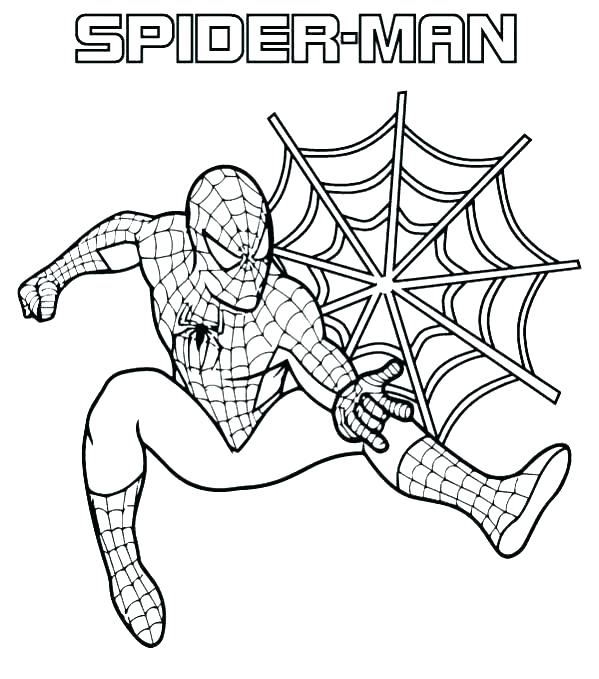 599x679 Batman And Spiderman Coloring Pages Free Coloring Pages Colouring