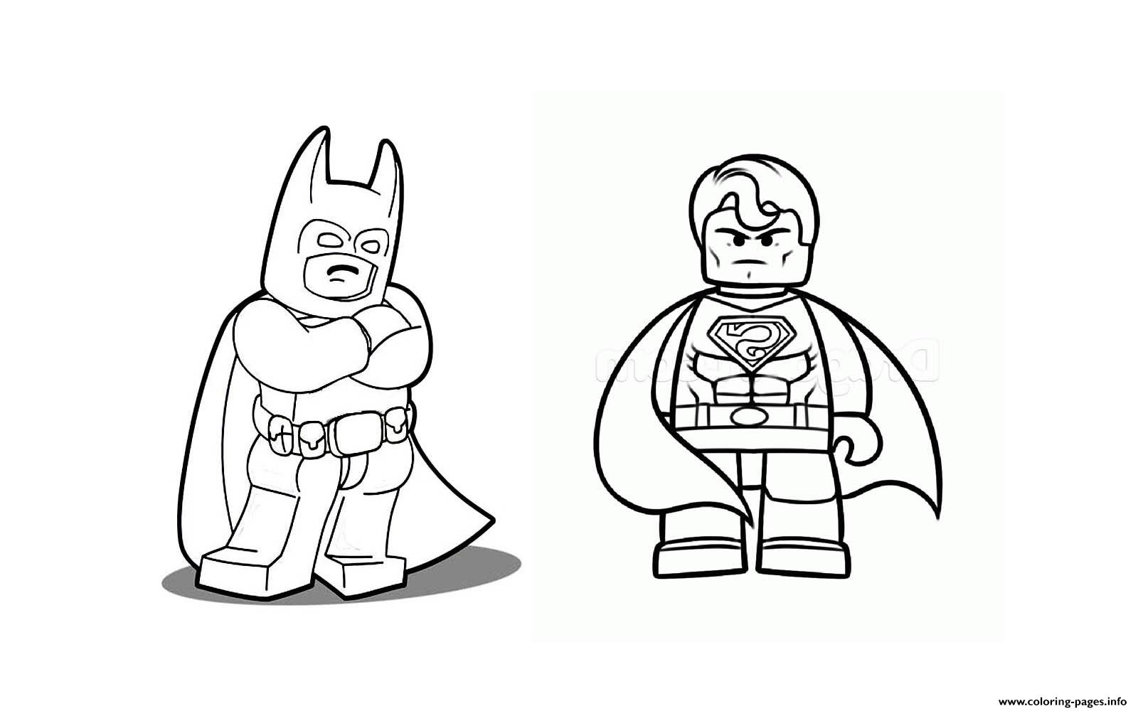 1600x1000 Batman With Superman Coloring Pages Printable