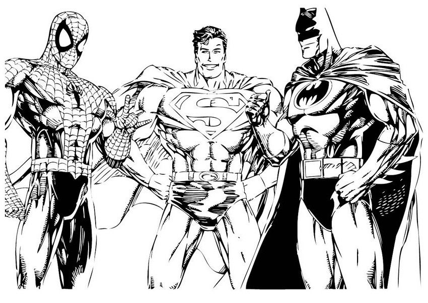 850x602 Free Printable Superman Coloring Pages For Kids Coloring Books