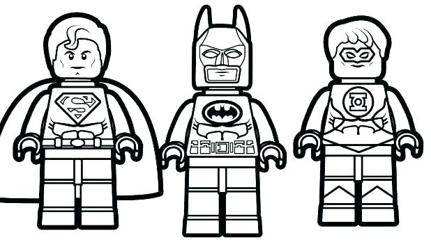 618x348 Lego Superman Coloring Pages Superman Coloring Pages Superman