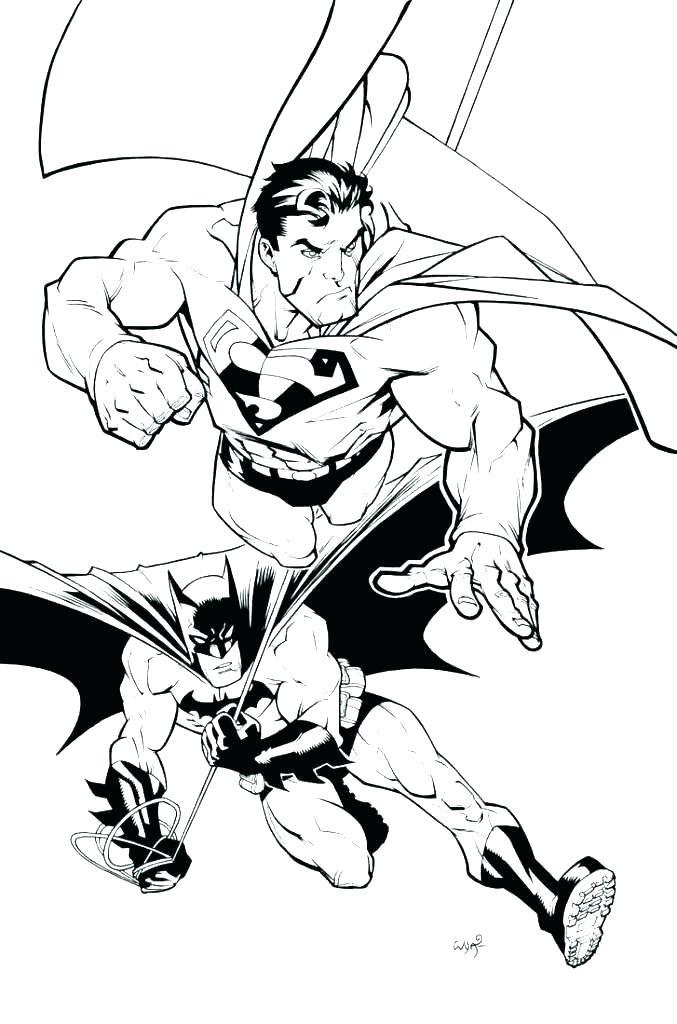 677x1024 Superman En Color Superman Color Pages Superman Logo Coloring Page