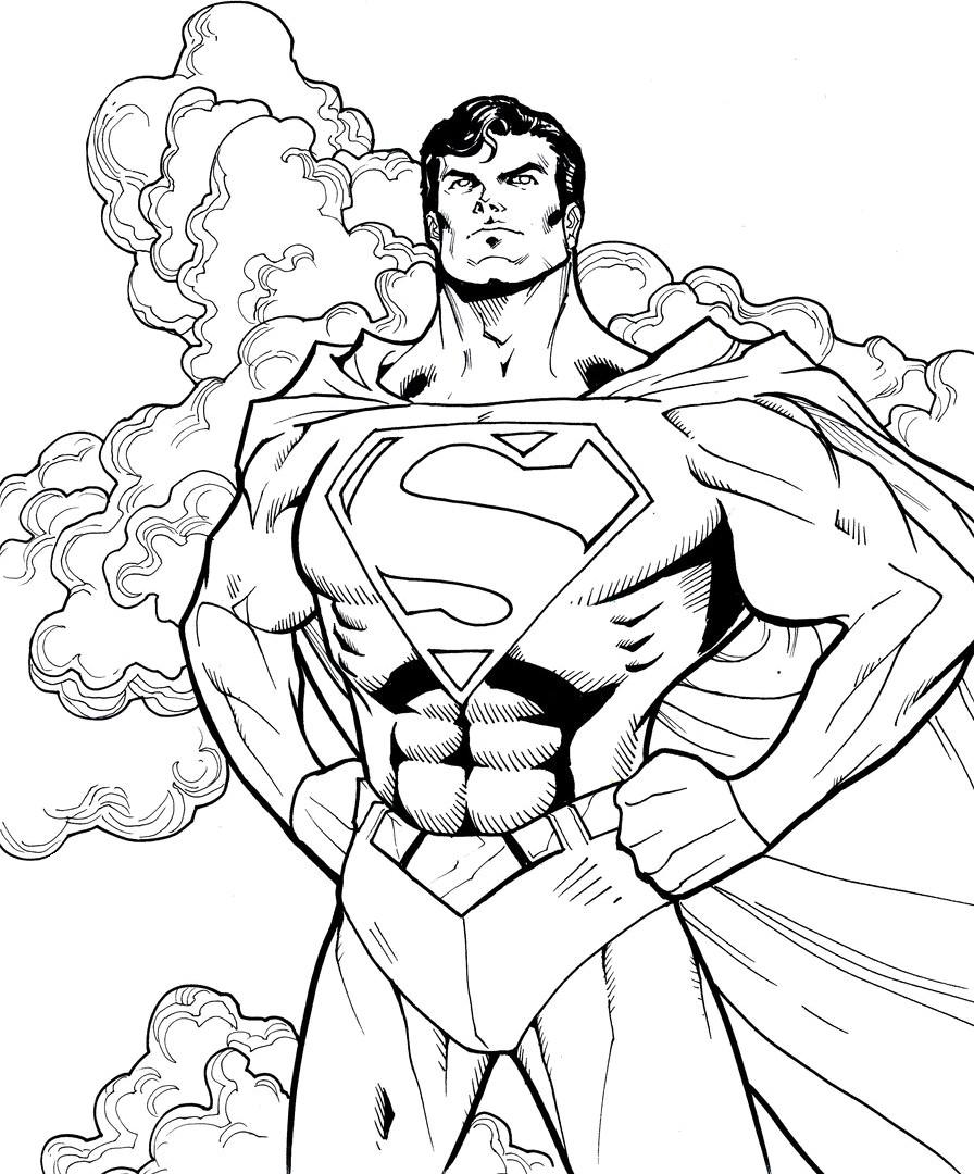 896x1080 Unlimited Batman Vs Superman Coloring Pages