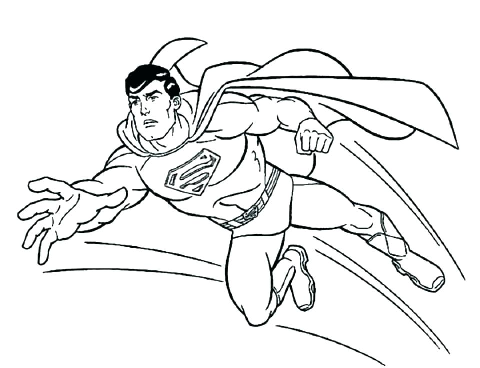 960x736 Batman And Superman Coloring Pages Superman Logo Coloring Pages