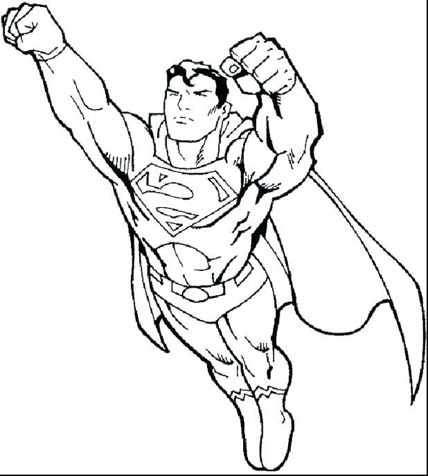 618x687 Batman Vs Superman Coloring Pages