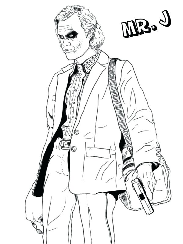 600x800 Batman Arkham City Coloring Pages Joker Asylum Page Free J Is