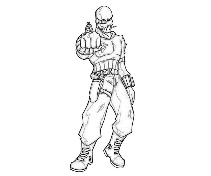 800x667 Batman Arkham City Deadshot Character How Coloring