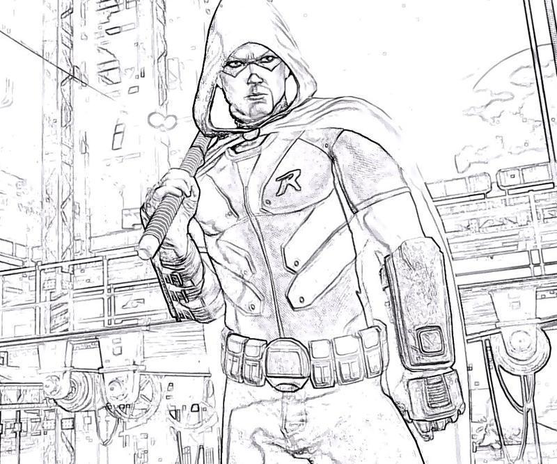 800x667 Batman Arkham City Robin Weapon Yumiko Fujiwara