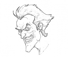 276x230 Pics Of Joker Arkham City Coloring Pages