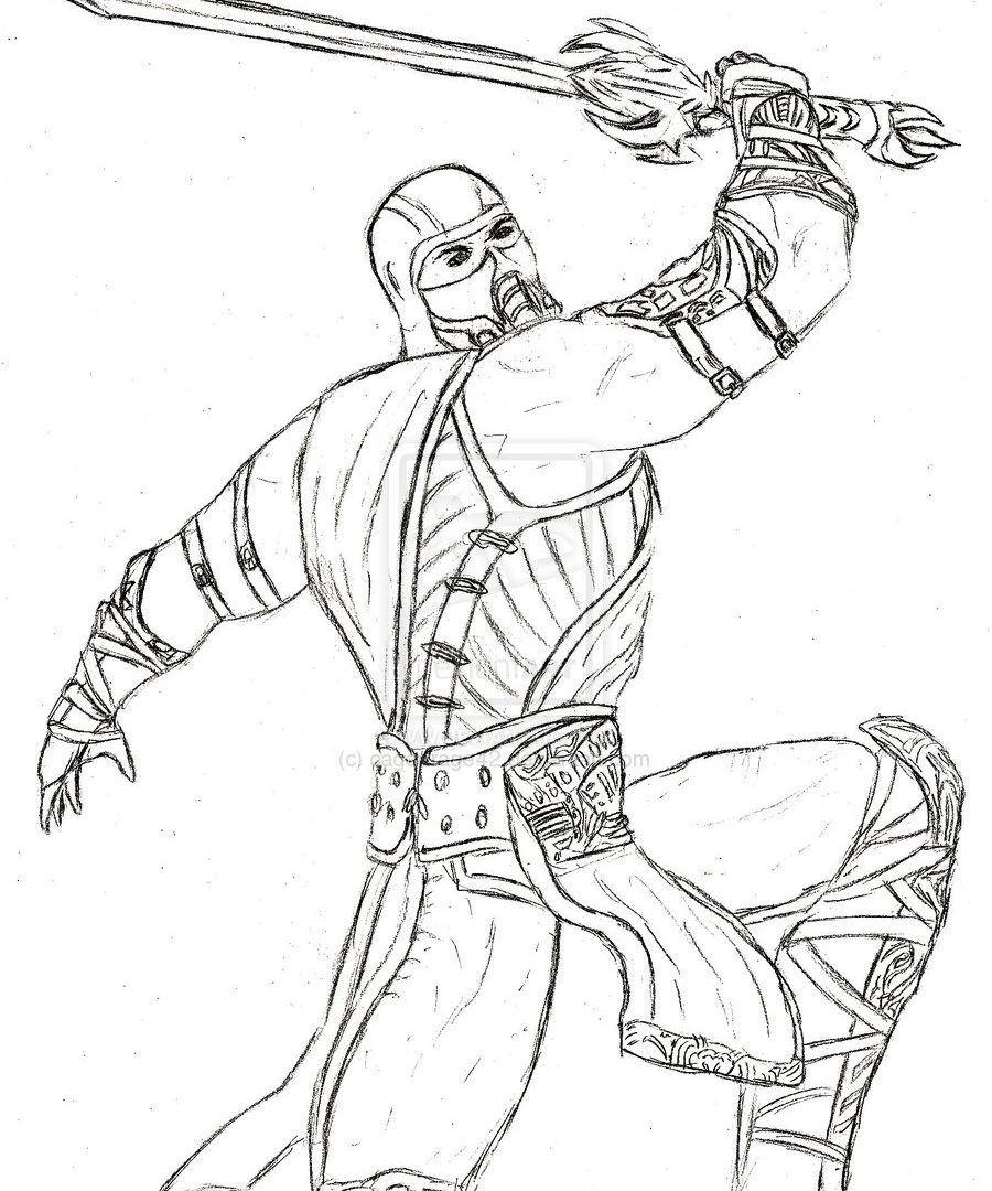 900x1080 Best Of Mortal Kombat King Lao Coloring Pages Free Colouring Pages