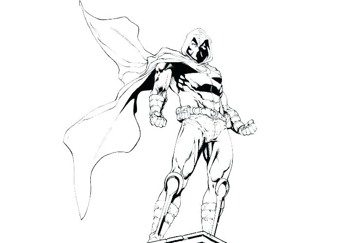 700x500 Batman Dark Knight Coloring Pages Fresh Or Free To Print Good Moon