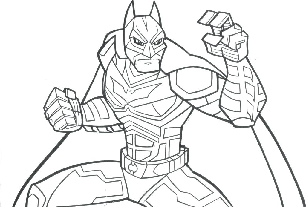 1024x693 Dark Knight Batman Coloring Pages