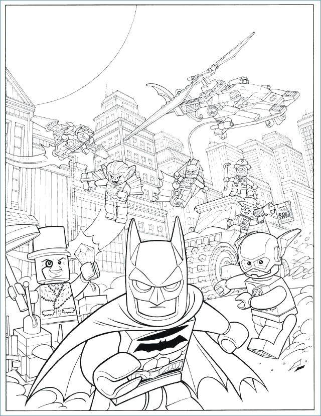640x829 Easy Batman Coloring Pages