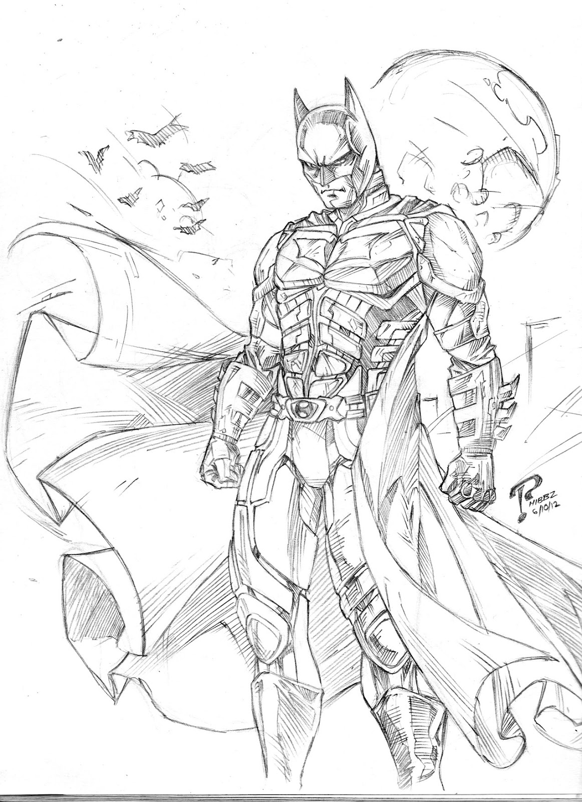 1162x1600 Outstanding Batman Arkham Knight Coloring Page