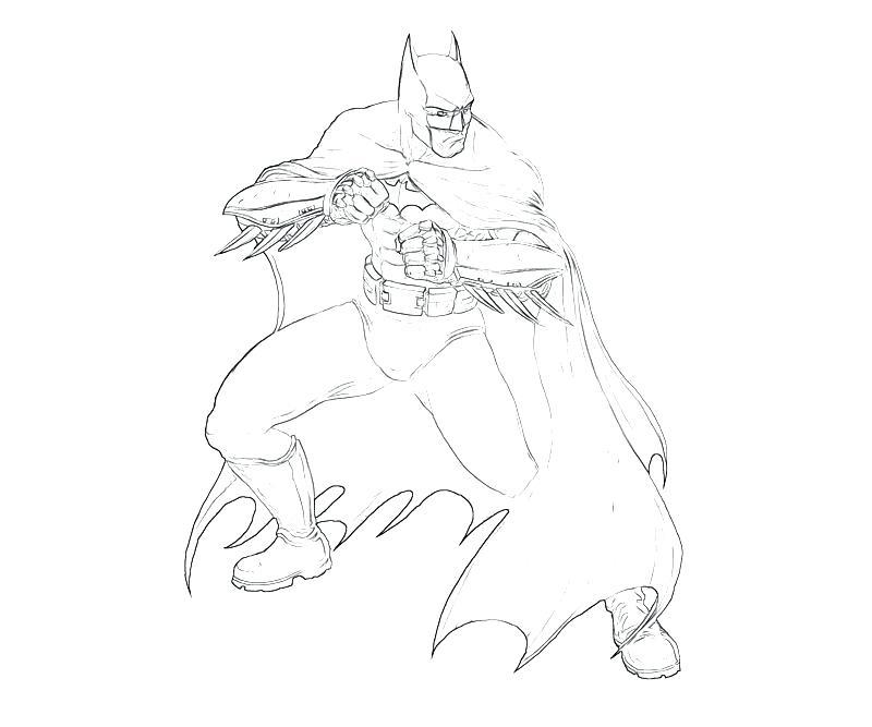 800x667 Batman Arkham Asylum Coloring Pages