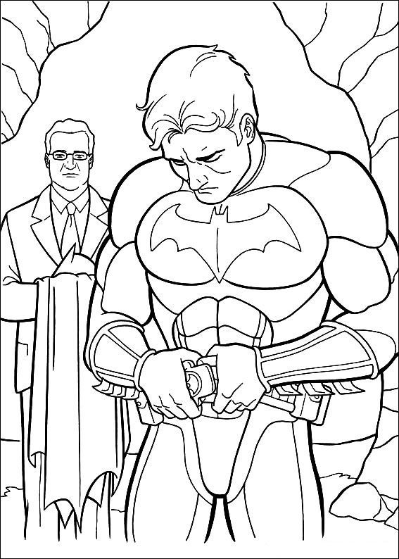 Batman Begins Coloring Pages