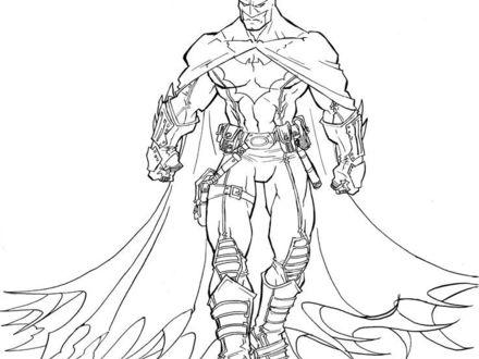 440x330 Batman Beyond Lineart